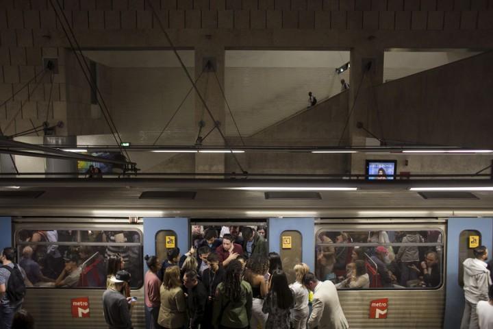 O caos perdeu comboio, falhou o metro e não embarcou