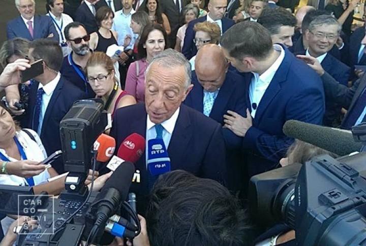 Presidente da República insta EUA a apostar em Sines por ser «ponto vital para entrar na Europa»