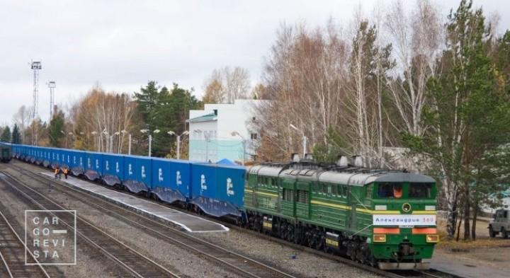 Volume de carga na conexão ferroviária euro-asiática pode chegar ao milhão de TEU em 2025