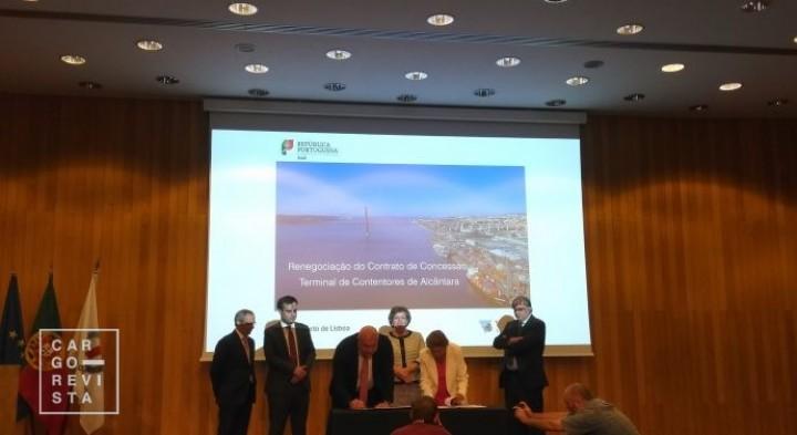 Terminal de Alcântara: contrato «viabiliza o desenvolvimento económico do porto e do país»;