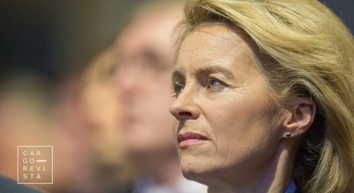 Comissão Europeia: von der Leyen implementará novas taxas ambientais sobre os transportes