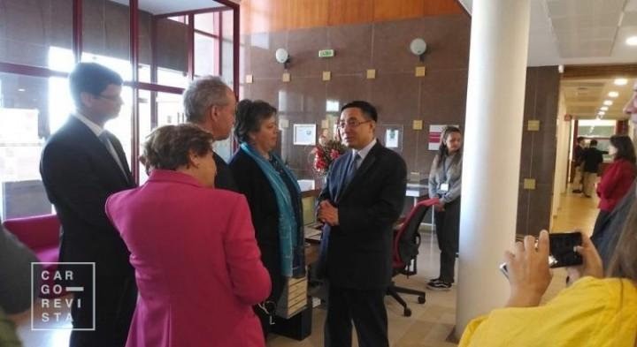 Ministro chinês «fez grande manifestação de interesse» nas virtudes de Sines, garantiu Ministra do Mar