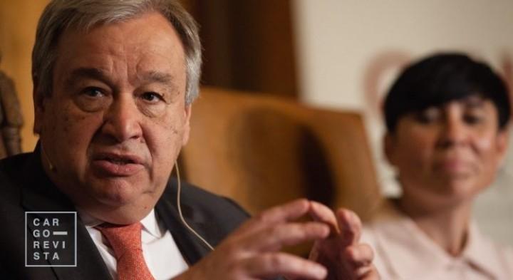 """Secretário-geral da ONU considera 'Belt and Road' uma chance de """"desenvolvimento sustentável"""