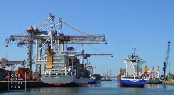 Subida de 4,3%: portos movimentam 15,35 milhões de toneladas até Fevereiro