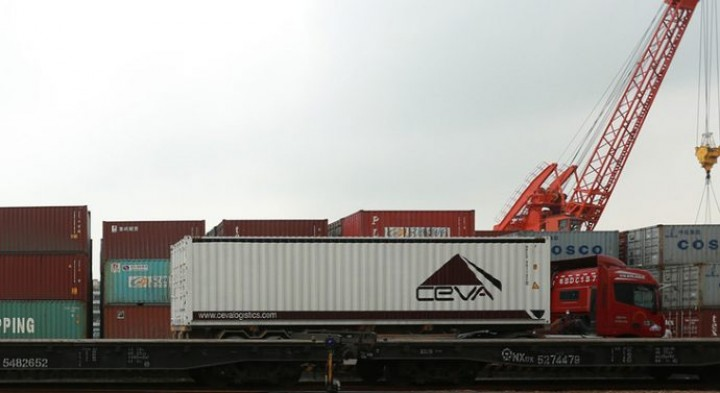 "Belt and Road"": CEVA Logistics lançou novo serviço multimodal entre a China e a Europa"
