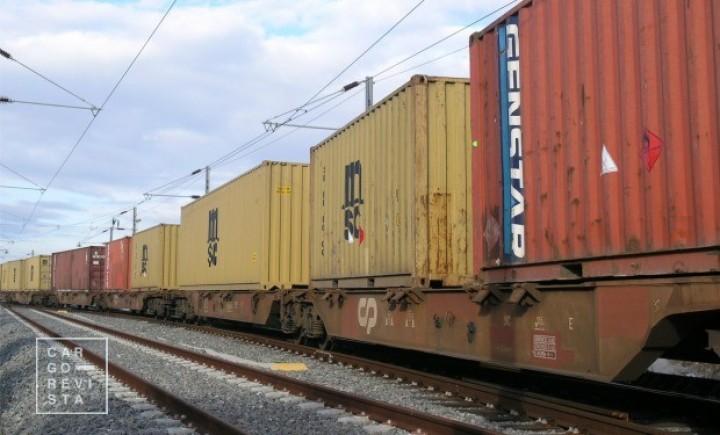 Portos contribuíram com 61% das toneladas e 80% dos TEU das mercadorias transportadas por ferrovia