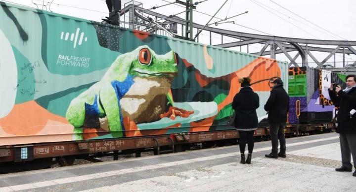 Noah's Train - A maior arte móvel em prol da  proteção climática