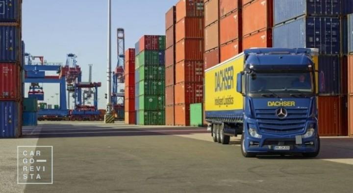 Transporte rodoviário com uma quota de 62,5% de toda a tonelagem da carga movimentada em 2018