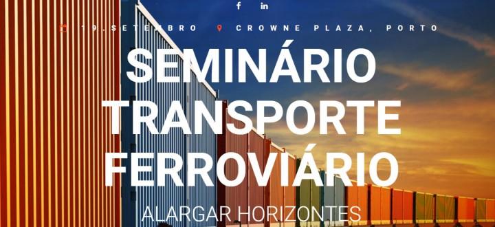 """Seminário """"Transporte Ferroviário"""""""