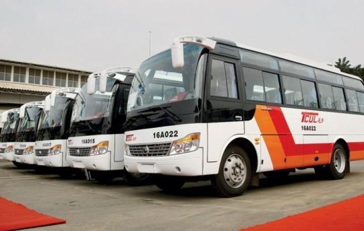 Cidade do Lubango inaugura Transporte público urbano
