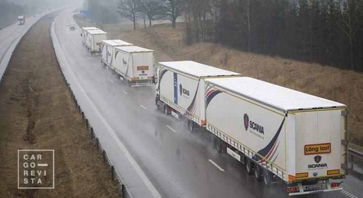 Mega-camiões já podem circular nas estradas nacionais