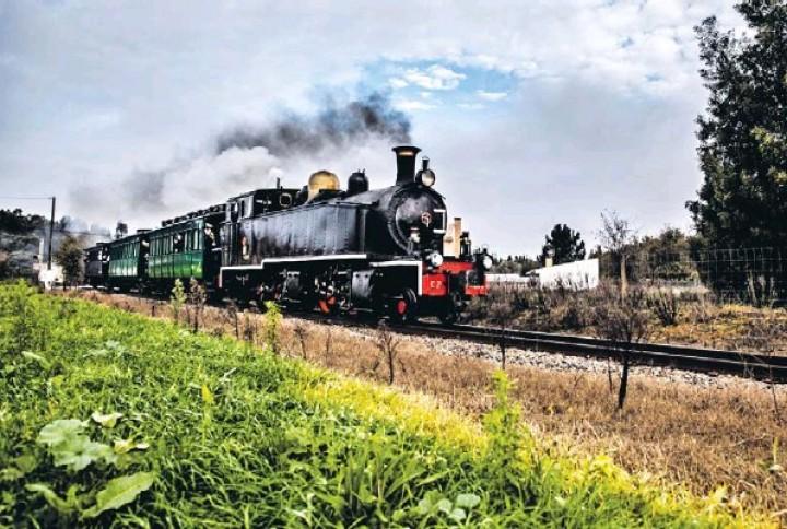 E o comboio a vapor voltou a apitar no Vouga