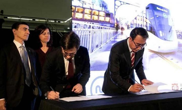 Metro do Porto assina contrato para a compra de 18 novos veículos