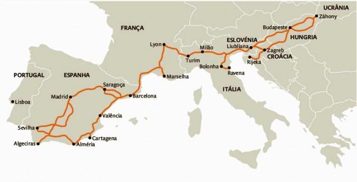 Governo quer Portugal no corredor ferroviário do Mediterrâneo