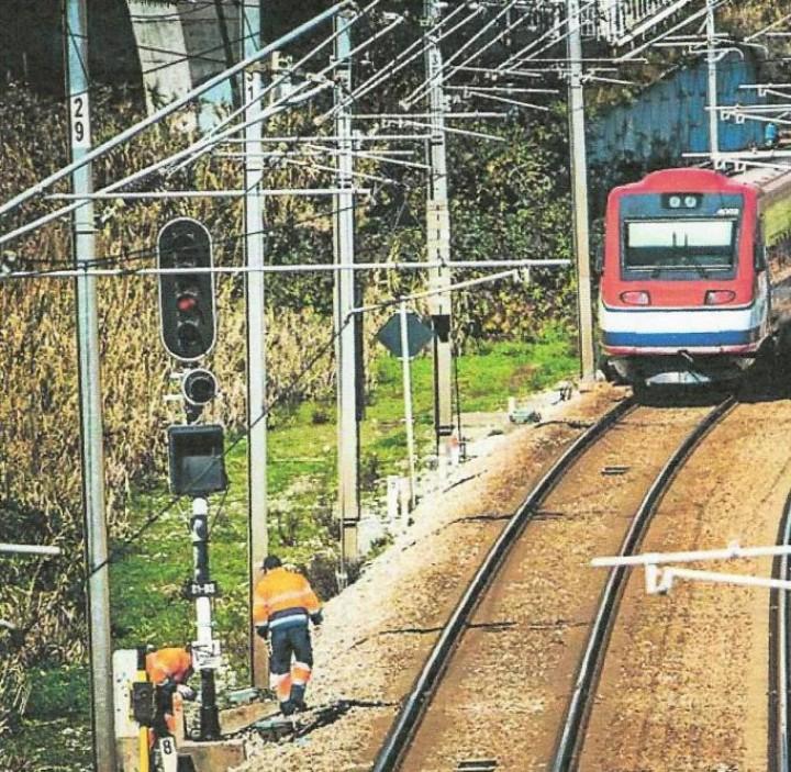 Linha do Norte enfrenta risco de desabamento por falta de obra