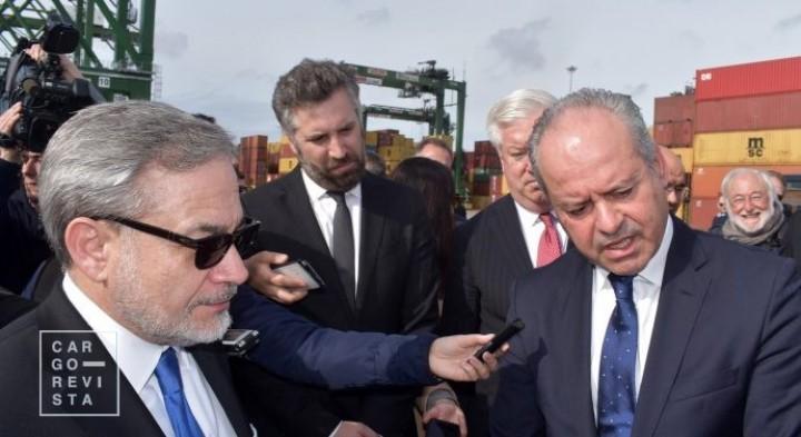 Secretário de Estado dos EUA vinca «interesse americano em investir» no Porto de Sines