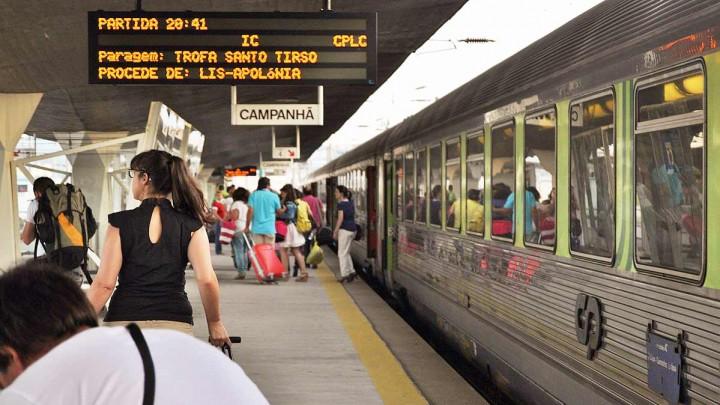CP transportou em 2019 mais 19 milhões passageiros que em 2018