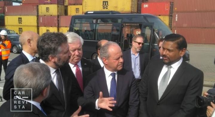Porto de Sines está «empenhado em reforçar o seu papel à escala internacional»