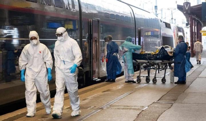 Coronavírus - Espanha e França usam alta velocidade na nova vaga de comboios sanitários