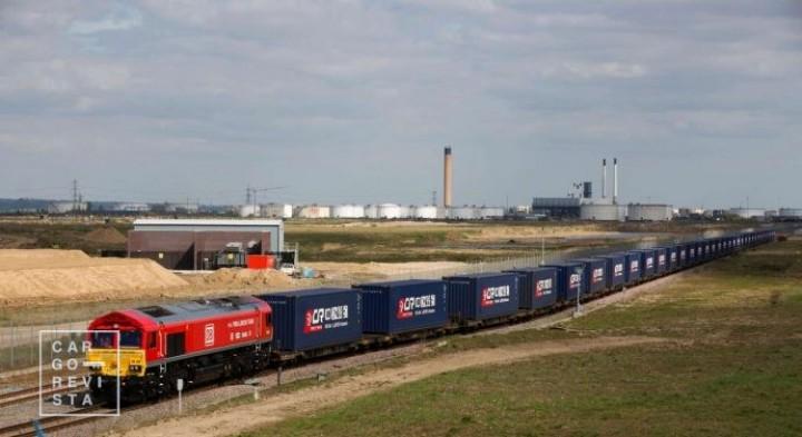 Comboios da China com destino à Europa com tráfego recorde em Março