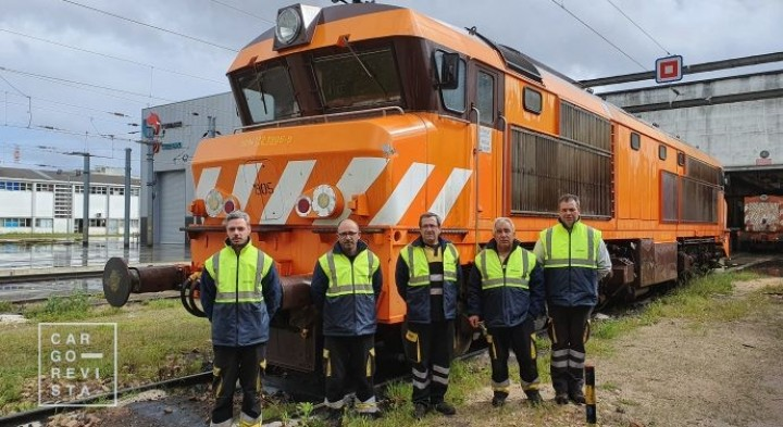 Medway Maintenance & Repair reata manutenção de locomotivas diesel no Entroncamento