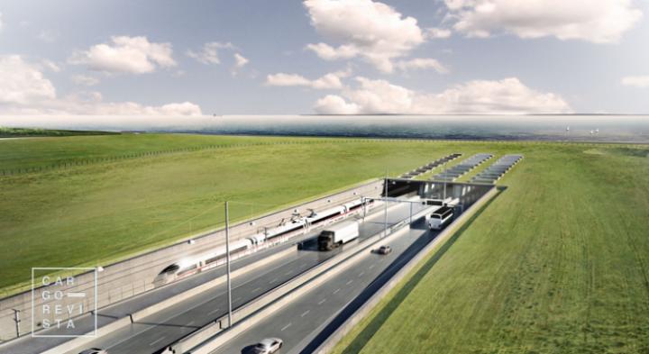 O maior túnel rodo-ferroviário do mundo ligará a Dinamarca à Alemanha em 2029