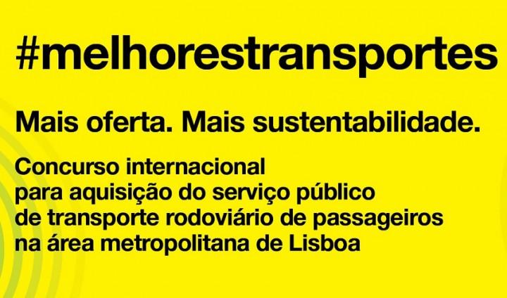 Apresentadas 7 propostas para Serviço de Transporte Rodoviário na Área Metropolitana de Lisboa