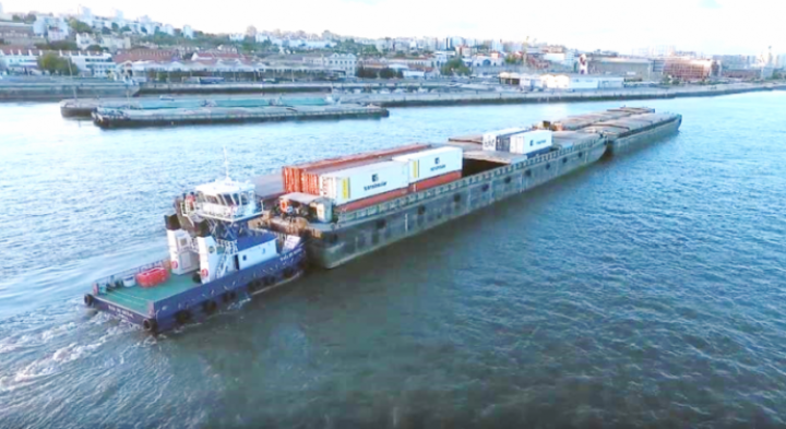 Governo aposta no projecto da Via Navegável do Tejo para escoar cargas via Castanheira