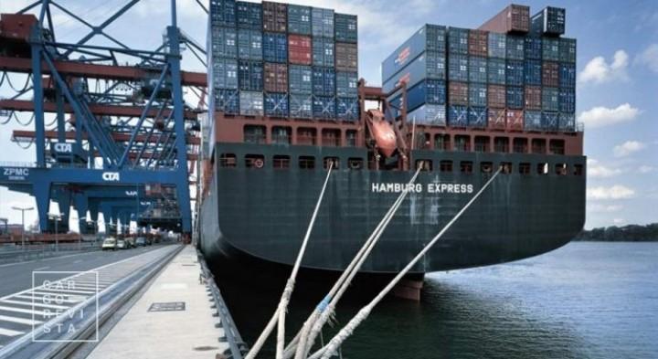 Portos movimentam 60,7 milhões de toneladas até Setembro: descida homóloga de -7,6%