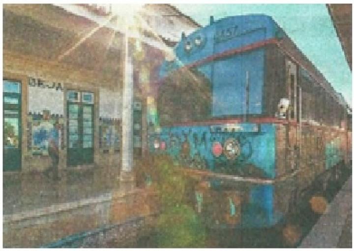De autocarro, carro e comboio a caminho de Beja