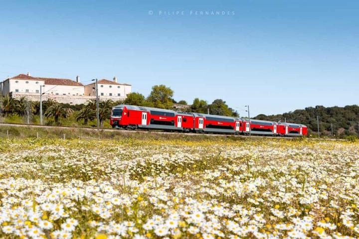 Automotora de dois pisos regressa à linha de Sintra depois de sete anos parada