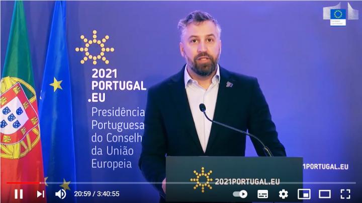 Intervenção do Ministro das Infraestruturas e Habitação no lançamento do Ano Europeu do Transporte Ferroviário