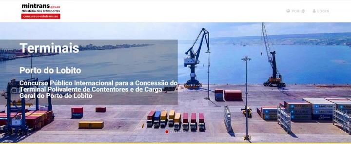 Porto Comercial do Lobito lança concurso internacional