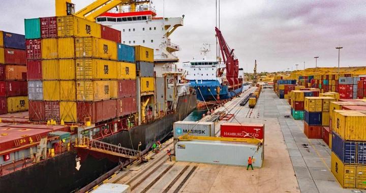 Porto do Namibe anuncia incremento da sua actividade