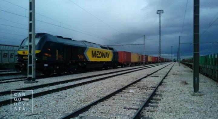 Medway reforça frota em Espanha com a incorporação de mais 8 locomotivas