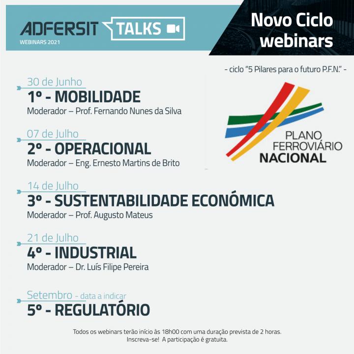 Ciclo Webinars PLANO FERROVIÁRIO NACIONAL