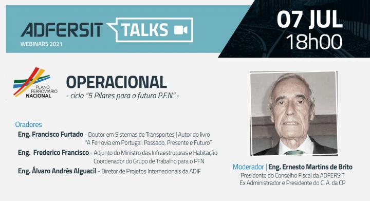 Ciclo Webinars PLANO FERROVIÁRIO NACIONAL -  pilar OPERACIONAL