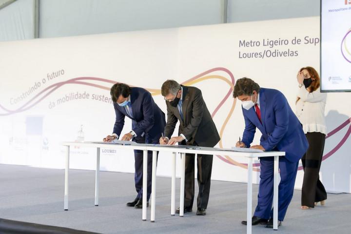 Metro Ligeiro de Superfície Loures/Odivelas: investimento de 250 milhões de euros do Plano de Recuperação e Resiliência