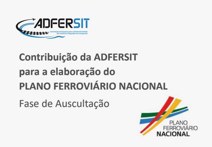 Nota da Direção - Contribuição da ADFERSIT para a elaboração do PLANO FERROVIÁRIO NACIONAL