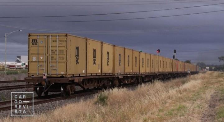 MSC adquire a maioria da operadora ferroviária espanhola Laumar Terminales Ferroviarias