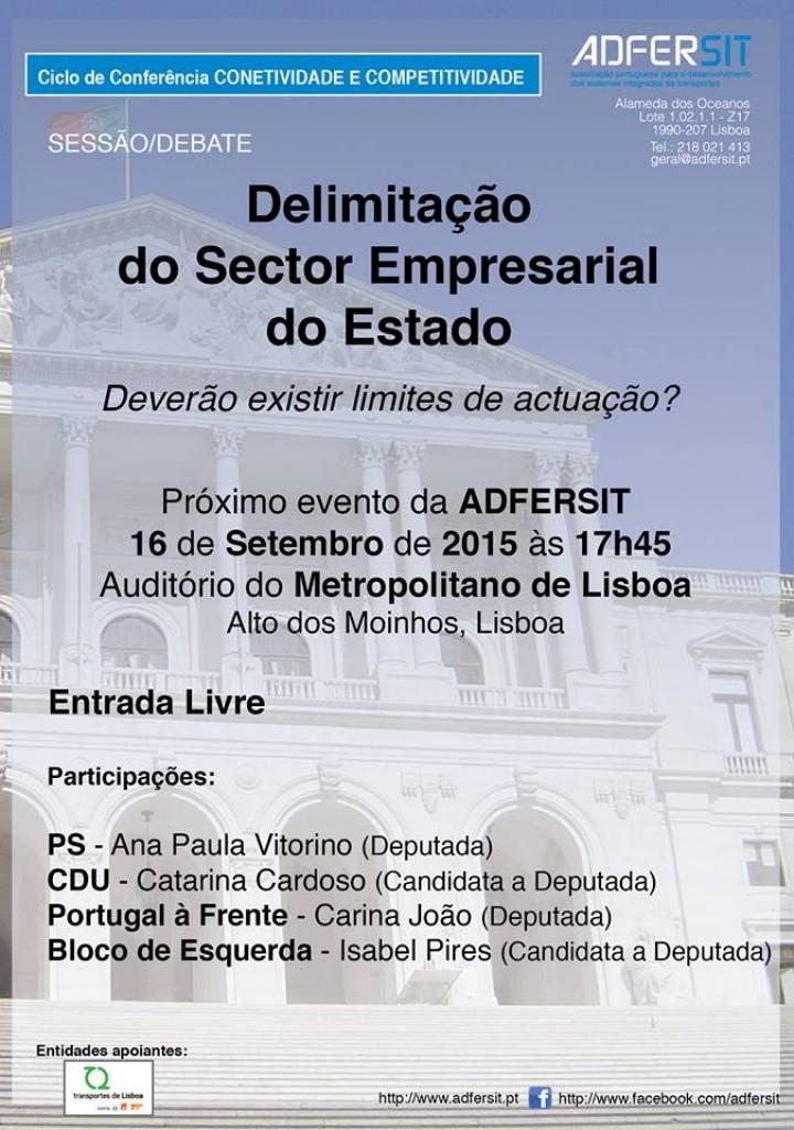 """""""Delimitação do Sector Empresarial do Estado"""""""