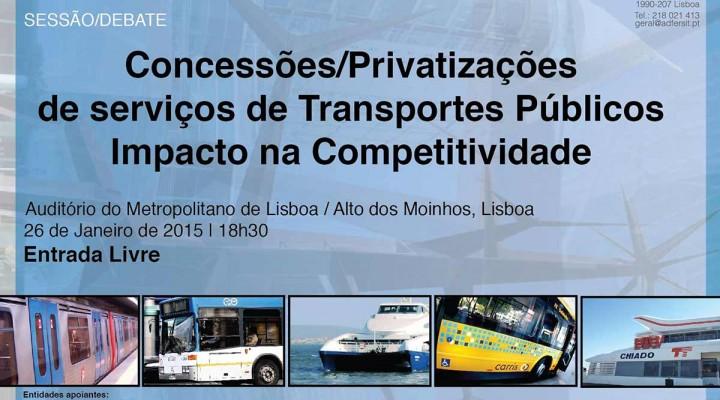 """""""Concessões/Privatizações de serviços de Transportes Públicos. Impacto na Competitividade"""""""