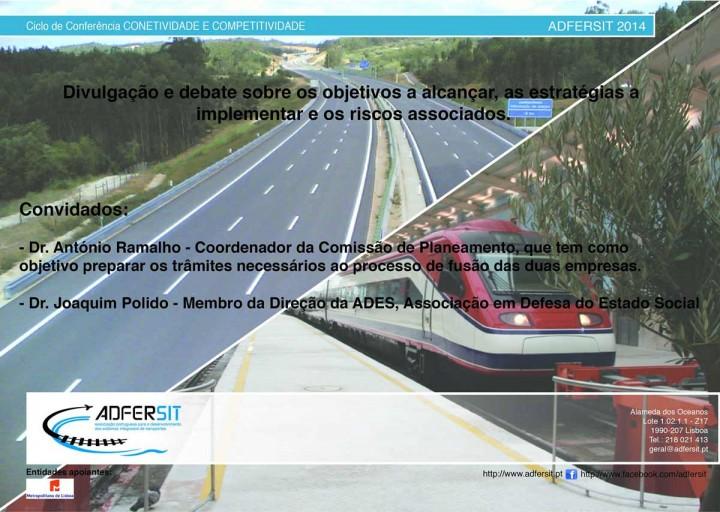 Modelo de Gestão Rodo-Ferroviário - Fusão das Empresas REFER, EPE e EP