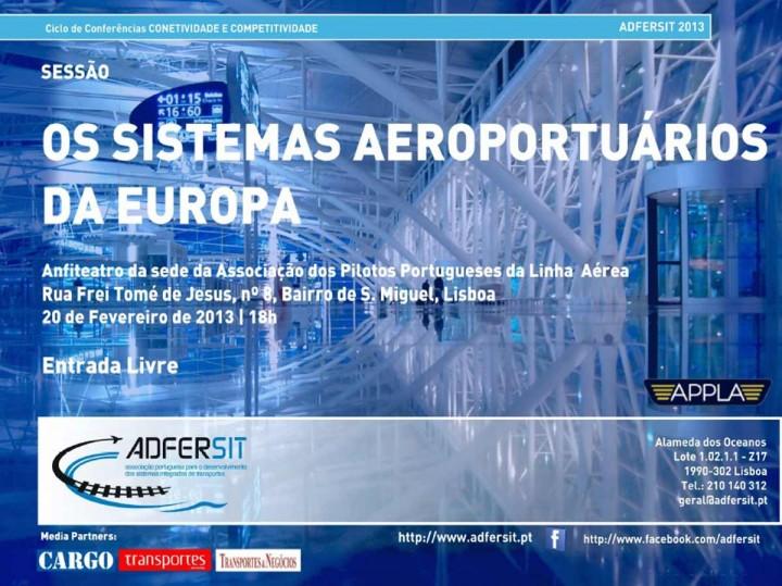 Transportes: os sistemas aeroportuários da Europa
