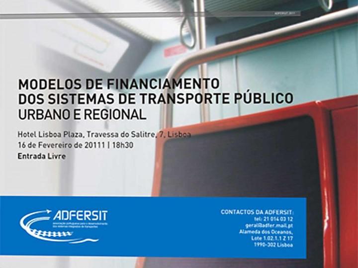 Modelos de Financiamento dos Sistemas de Transporte Público Urbano e Regional
