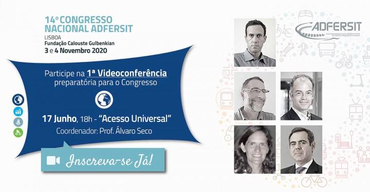"Videoconferência ""Acesso Universal"""