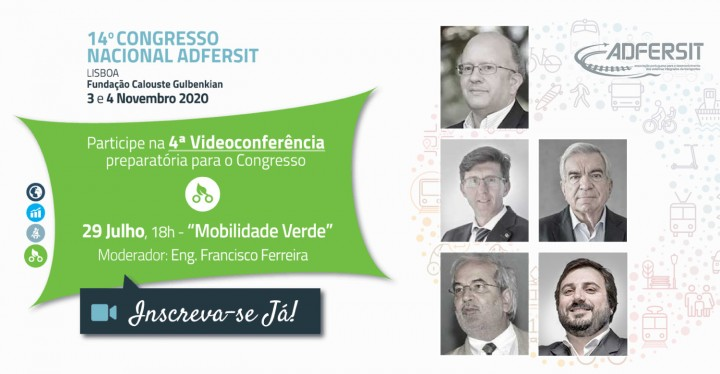 """Videoconferência """"Mobilidade Verde"""""""