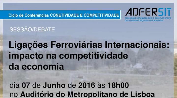 """""""Ligações Ferroviárias Internacionais: impacto na competitividade da economia"""""""